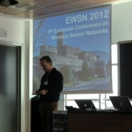 9th European Conference on Wireless Sensor Networks, foto archivio Università di