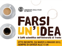 Il caffè scientifico dell'Università di Trento