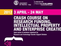 Crash Course on Research Funding, Intellectual Property and Enterprise Creation